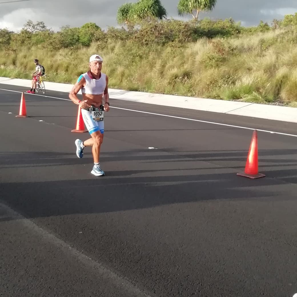 Holger Lorenz bei der Ironman WM in Hawaii